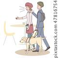 日本環球莊園協會監督材料盲人 47816754