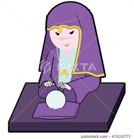 fortune teller 47816773