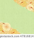 Background - Goldfish and water pattern 6 Tech 47816814