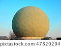 Ministry of Defense Information Headquarters Tashinagi Communication Center 3 Radar dome (Chikuzen cho, Asakura gun, Fukuoka prefecture) 47820294