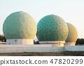 Ministry of Defense Information Headquarters Tashi Wash Communication Center 5 Radar dome (Chikuzen-machi, Asakura gun, Fukuoka prefecture) 47820299