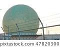 Ministry of Defense Information Headquarters Tachibana Communication Center 8 Radar Dome Near View (Chikuzen-machi, Asakura District, Fukuoka Prefecture) 47820300