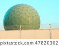 Ministry of Defense Information Headquarters Tashinago Communication Center 9 Laser dome near view (Chikuzen cho, Asakura gun, Fukuoka prefecture) 47820302