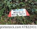 Ryuuyama course guide board (Iizuka-shi, Fukuoka prefecture) 47822431
