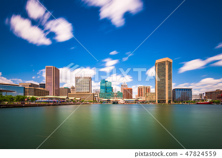Baltimore, Maryland, USA Skyline 47824559