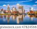 Providence, Rhode Island, USA downtown skyline 47824566