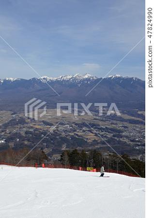 富士見全景度假村 -  Konashi斜坡下部的陡坡 47824990