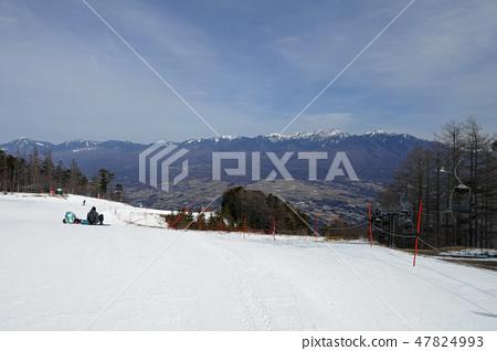 富士見全景度假村 -  Yatsugatake,您希望從貢多拉山頂站附近 47824993