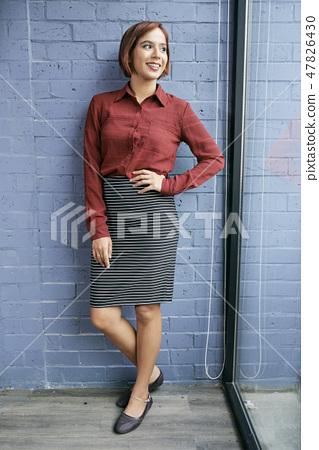 Pretty business lady 47826430