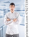 chef, cook, knife 47827339