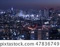 东京夜景城市景观DoCoMo塔 47836749