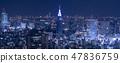 东京夜景城市景观DoCoMo塔 47836759