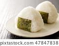 rice ball 47847838