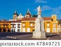 Plaza de La Aduana  Cartagena de los indias Bolivar Colombia 47849725