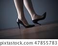검은 펌프스 여성 47855783
