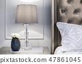Bedroom interior design 47861045