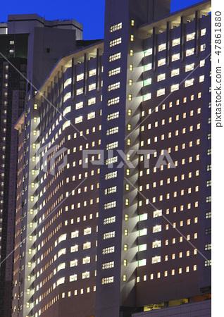 public apartment block in Hong Kong 47861880