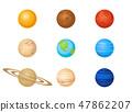 矢量 矢量图 星球 47862207