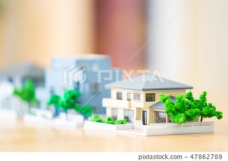 房地產圖像微型模型房子 47862789