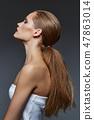 woman, female, hair 47863014
