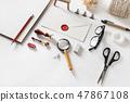 Vintage stationery set 47867108