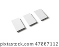 Isolated business cards 47867112