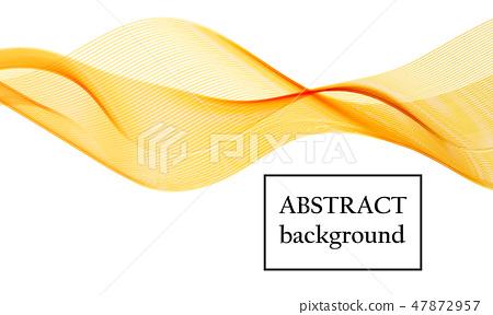 Flow shapes design Liquid wave Abstract flow shape 47872957