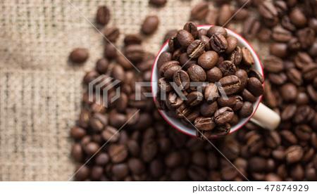 咖啡豆 47874929