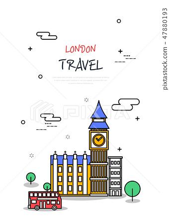 英國世界旅行線圖 47880193
