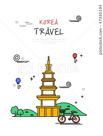 韓國世界旅行線圖 47880194