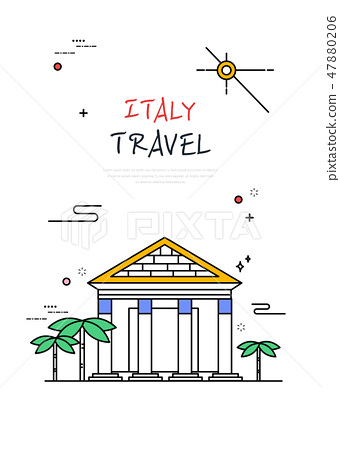 意大利世界旅行線圖 47880206