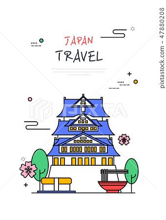日本世界旅行線圖 47880208