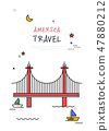美國世界旅行線圖 47880212