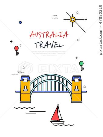 澳大利亞世界旅行線圖 47880219