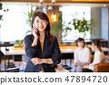 女商人辦公室偶然企業圖像 47894720