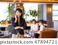女商人辦公室偶然企業圖像 47894721