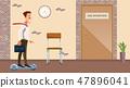 木板 板 商人 47896041