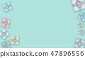 투명감이있는 선물 상자 배경 (생일, 발렌타인 데이, 어버이 날, 크리스마스) 47896556