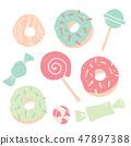 사탕, 캔디, 당류 47897388