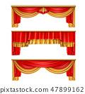 โรงละคร,ม่าน,ผ้าม่าน 47899162