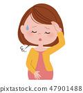 孕妇生病的头晕 47901488