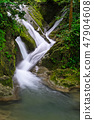 Waterfall stream  47904608