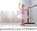 ballet, girl, tutu 47908667