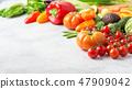 Fresh raw ingredients for salad 47909042