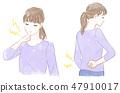 Neck and waist pain 47910017