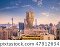 cityscape of macao (macau), china 47912634