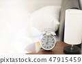 아침의 이미지 7시 기상 시계 47915459
