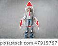 Success, creative and idea concept 47915797