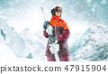 滑雪者 冬天 冬 47915904