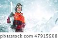 滑雪者 雪 女性 47915908